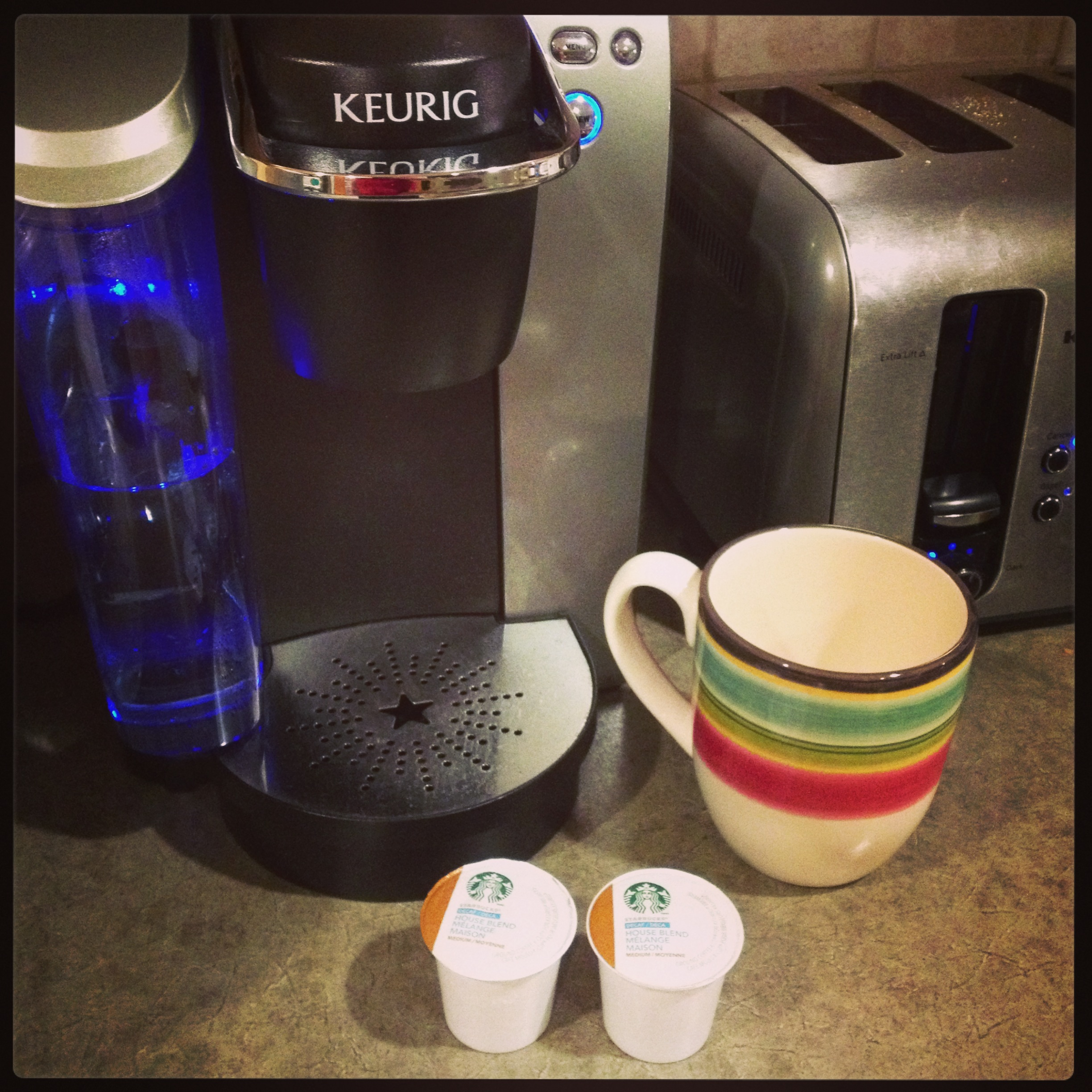 My Keurig and I have an understand…