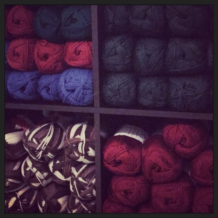 The yarn store.
